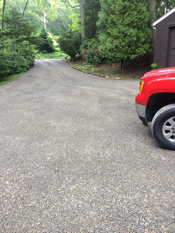 Completed Client Project - Gravel Driveway